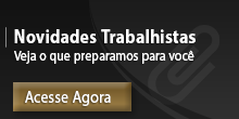 Novidade trabalhista